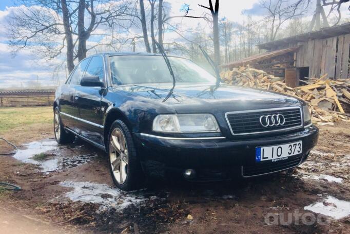 Audi A8 D2/4D [restyling] Sedan 4-doors