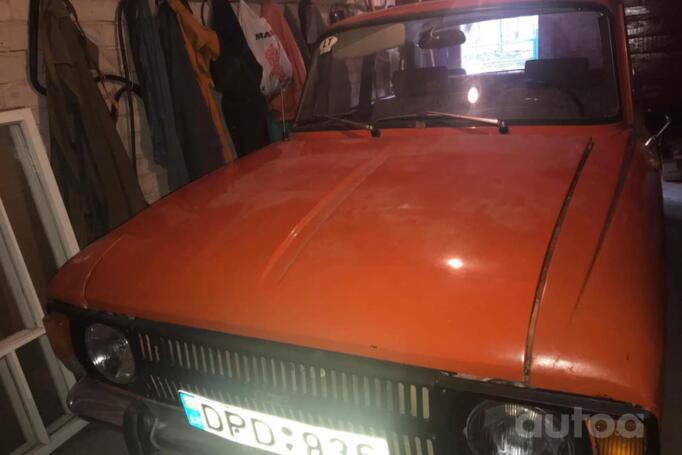 Moskvich 412 1 generation [2th restyling] Sedan