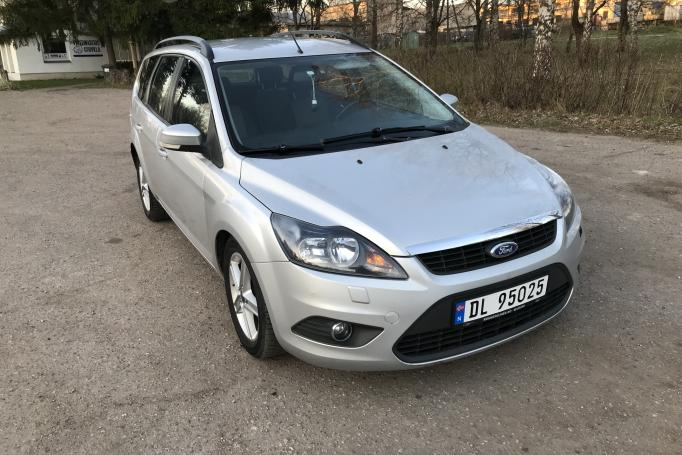 Ford Focus 2 generation [restyling] wagon 5-doors