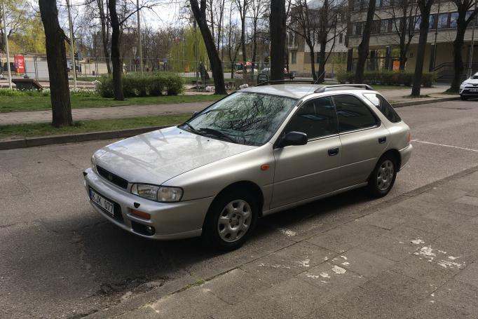Subaru Impreza 1 generation [restyling] wagon