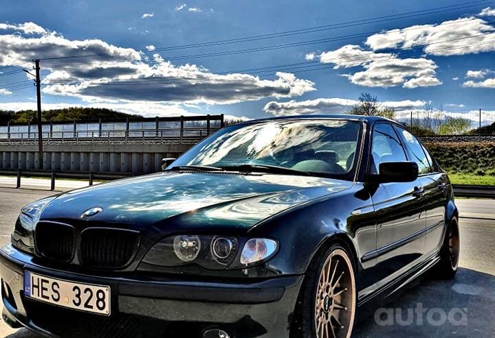 BMW 3 Series E46 Sedan 4-doors