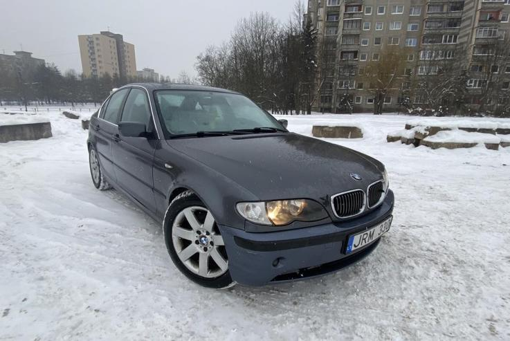 BMW 3 Series E46 [restyling] Sedan