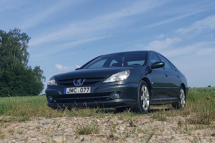 Peugeot 607 1 generation [restyling] Sedan