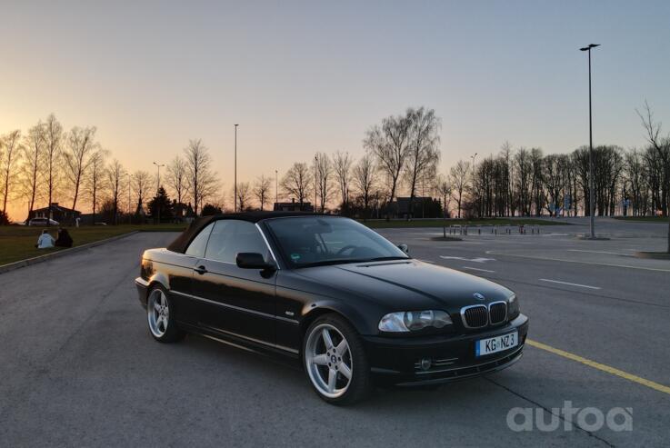 BMW 3 Series E46 Cabriolet