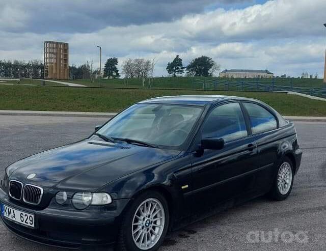 BMW 3 Series E46 Compact hatchback