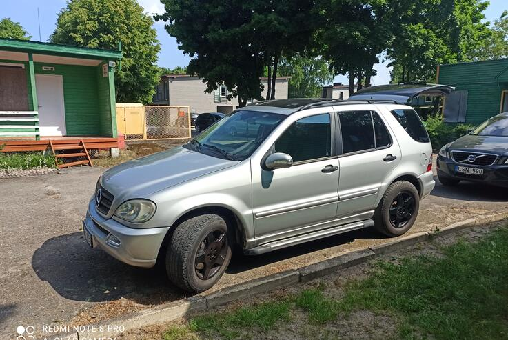 Mercedes-Benz M-Class W163 [restyling] Crossover