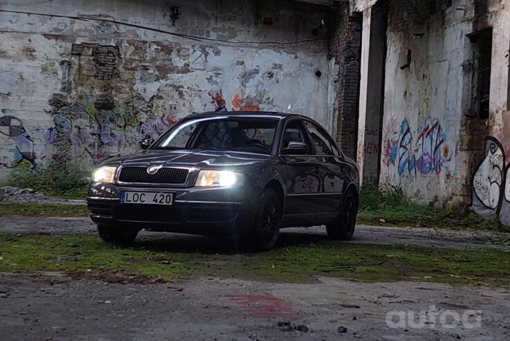 Skoda Superb 1 generation Sedan