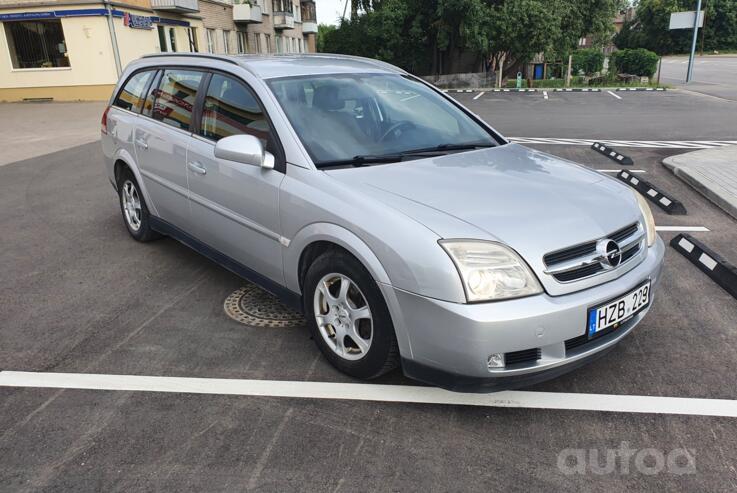 Opel Vectra C [restyling] wagon 5-doors