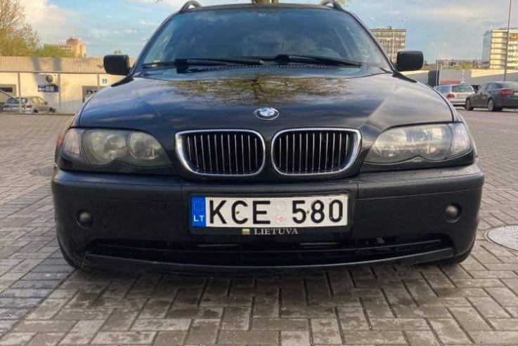 BMW 3 Series E46 [restyling] Touring wagon
