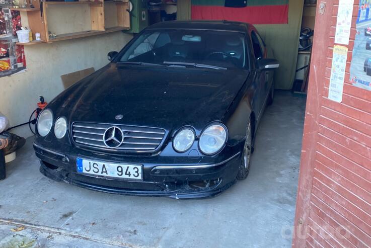 Mercedes-Benz CL-Class C215 Coupe 2-doors