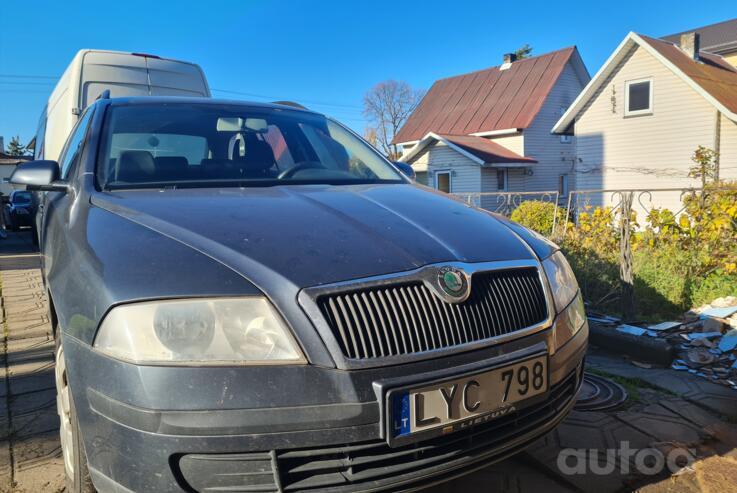 Skoda Octavia 2 generation Liftback 5-doors